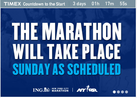 Source : site officiel du marathon de NY