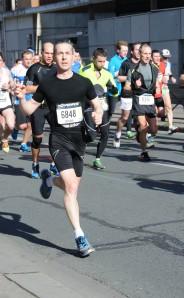 photo de moi semi marathon Paris 2014