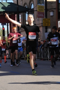 Les Speedform Apollo sur le marathon de Chicago