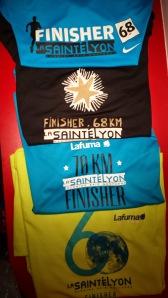 photos des Tshirt Finishers STL till 2013