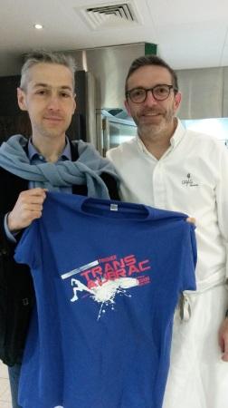 Avec Sébastien Bras